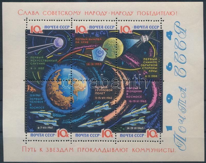 Space Research block, Űrkutatás blokk