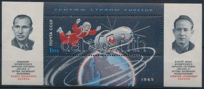 Űrkutatás blokk, Space research block