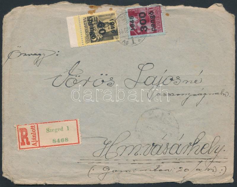 (5. díjszabás) Távolsági ajánlott levél, Inflation cover