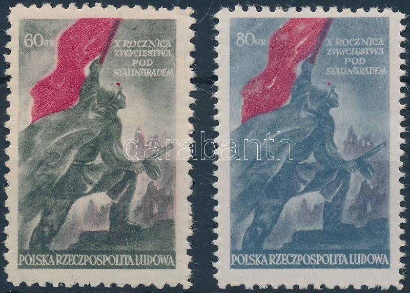 Stalingrad set, Sztálingrád sor