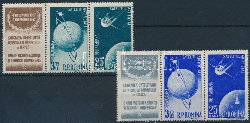 Soviet satellites 2 stripes of 3, Szovjet műhold 2 hármascsík