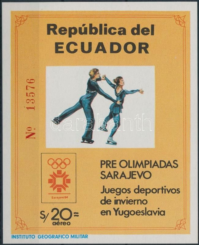 Winter Olympics, Sarajevo block, Téli Olimpia, Szarajevó blokk