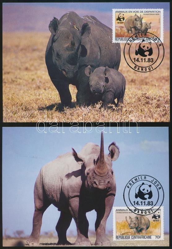 WWF Rhino closing values on 2 CM, WWF Orrszarvú záróértékek 2 db CM-en