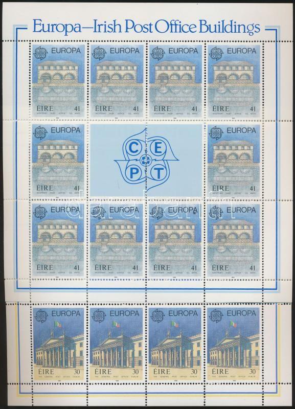 CEPT Europa postal service minisheet set, Europa CEPT postai szolgálat kisívsor