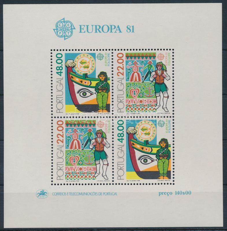 Europa CEPT Folklore block, Europa CEPT Folklór blokk
