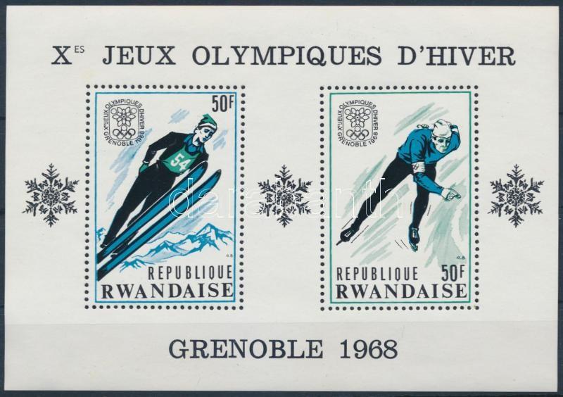 Winter Olympics in Grenoble block, Téli Olimpia, Grenoble blokk