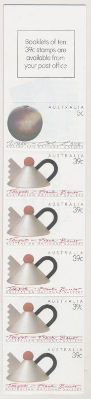 Performing self-adhesive stamp booklet, Művészet öntapadós bélyegfüzet