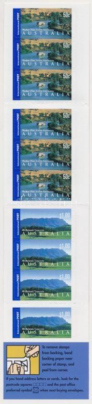 Landscapes self-adhesive stamp booklet, Tájak öntapadós bélyegfüzet