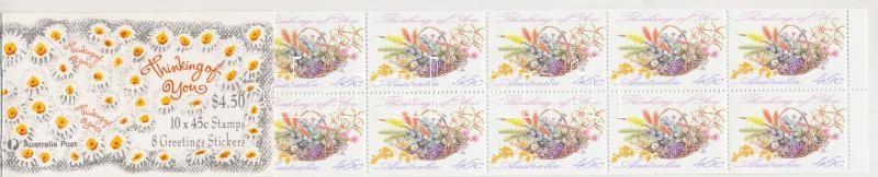 Greeting Stamps self-adhesive stamp booklet, Üdvözlőbélyeg öntapadós bélyegfüzet
