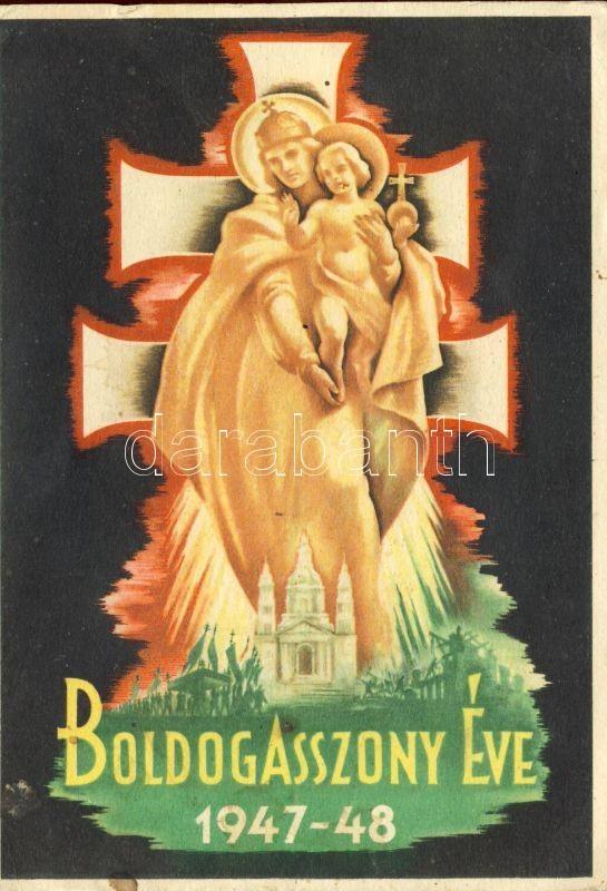 1947-48 The year of Blessed Virgin Mary, Klösz, 1947-48 Boldogasszony éve, Klösz