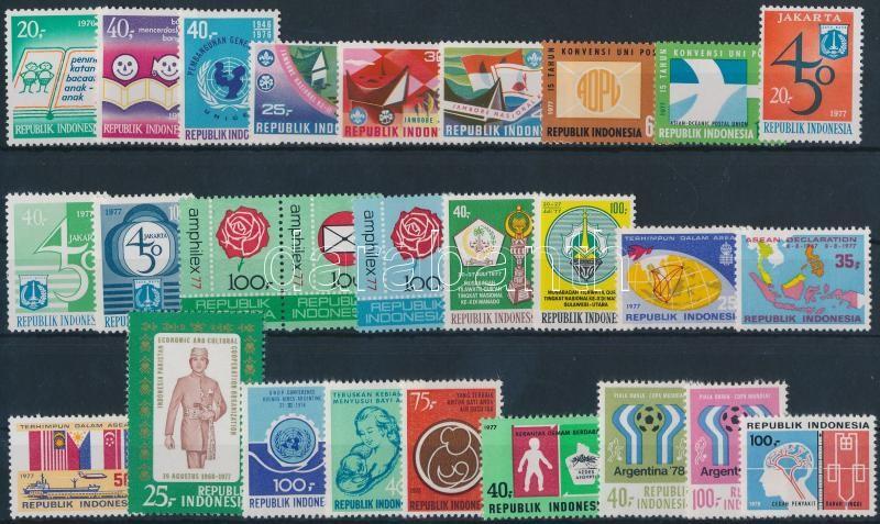 1976-1978 8 sets + 4 individual values, 1976-1978 8 klf sor + 4 klf önálló érték