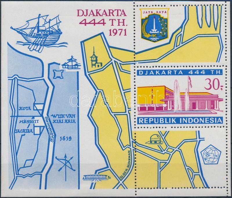 Jakarta block, 444 éves Jakarta város blokk