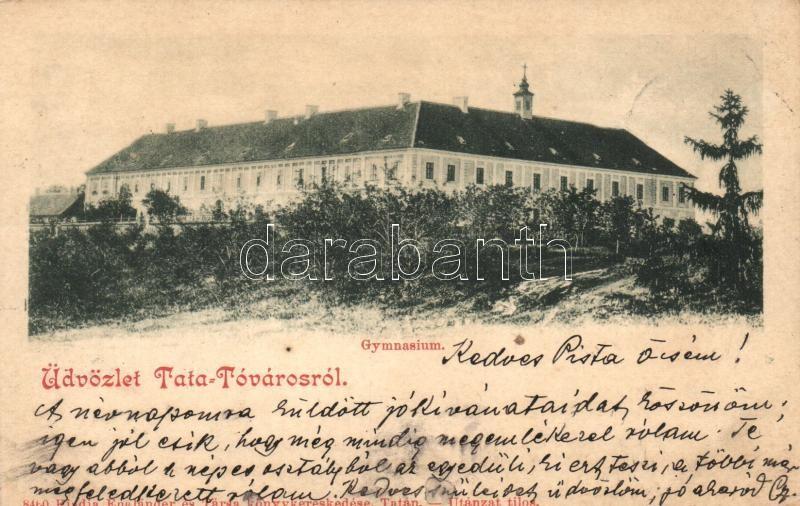 Tata-Tóváros, Gimnázium; Engländer és Társa kiadása