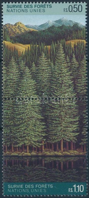 Forest protection, coniferous forest pair, Erdővédelem, tűlevelű erdők pár