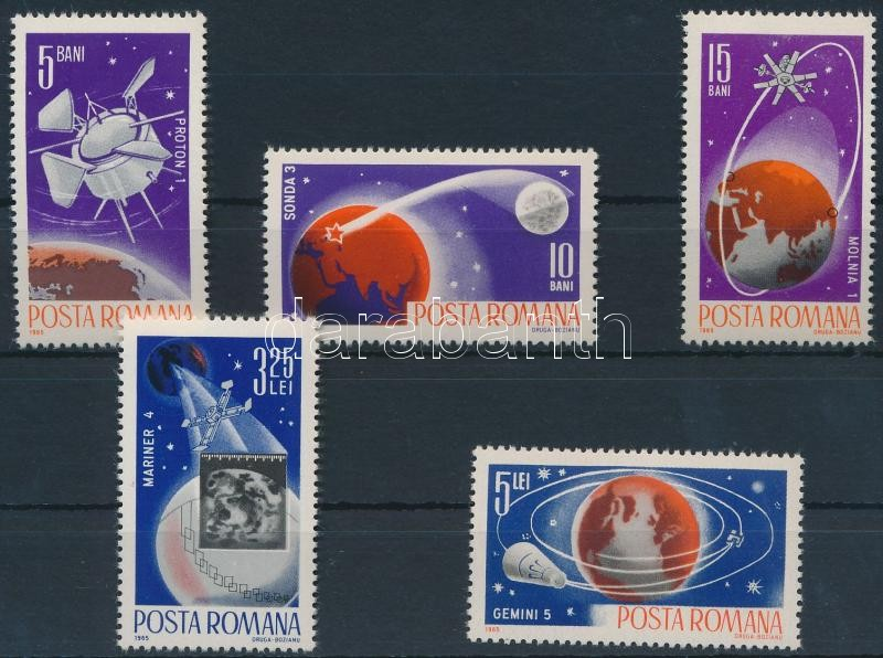 Space Research set, Űrkutatás sor