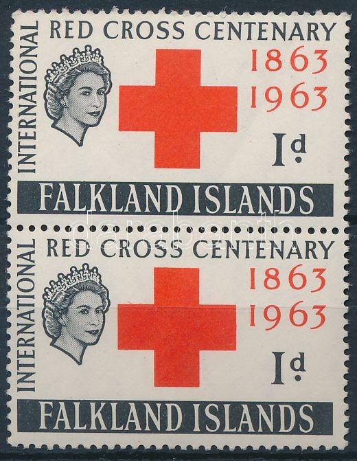 Nemzetközi Vöröskereszt Centenárium pár, International Red Cross Centenary pair