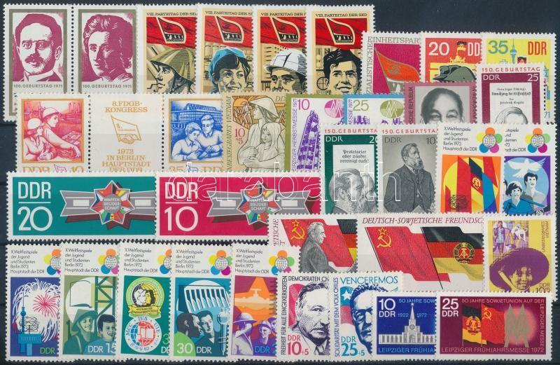 1970-1973 10 sets + 4 individual values + 1 pair, 1970-1973 10 klf sor + 1 pár + 4 klf önálló érték