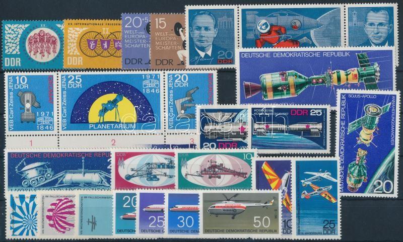 1966-1973 8 sets + 3 individual values, 1966-1973 8 klf sor + 3 klf önálló érték