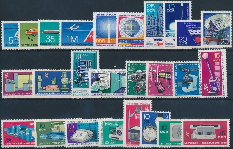 1966-1974 10 klf sor + 2 klf önálló érték, 1966-1974 10 sets + 2 individual values