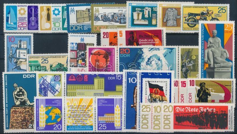 1967-1973 10 sets + 4 individual values, 1967-1973 10 klf sor + 4 klf önálló érték