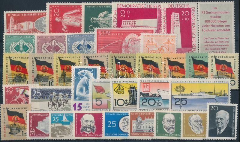 1959-1960 7 sets + 7 individual values, 1959-1960 7 klf sor + 7 klf önálló érték