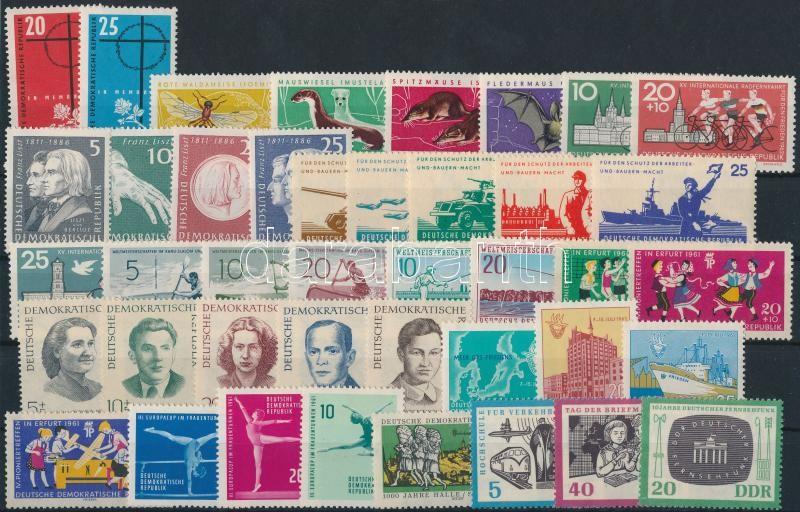 1961-1962 12 sets + 2 individual values, 1961-1962 12 klf sor + 2 klf önálló érték