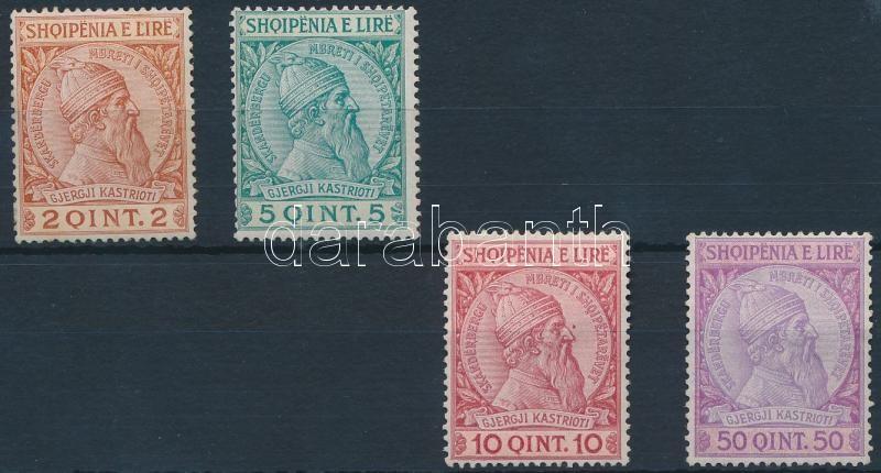 Definitive 4 stamps from set, Forgalmi sor 4 értéke