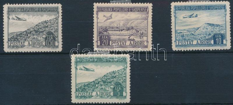 Plane 4 stamps, Repülő sor 4 értéke