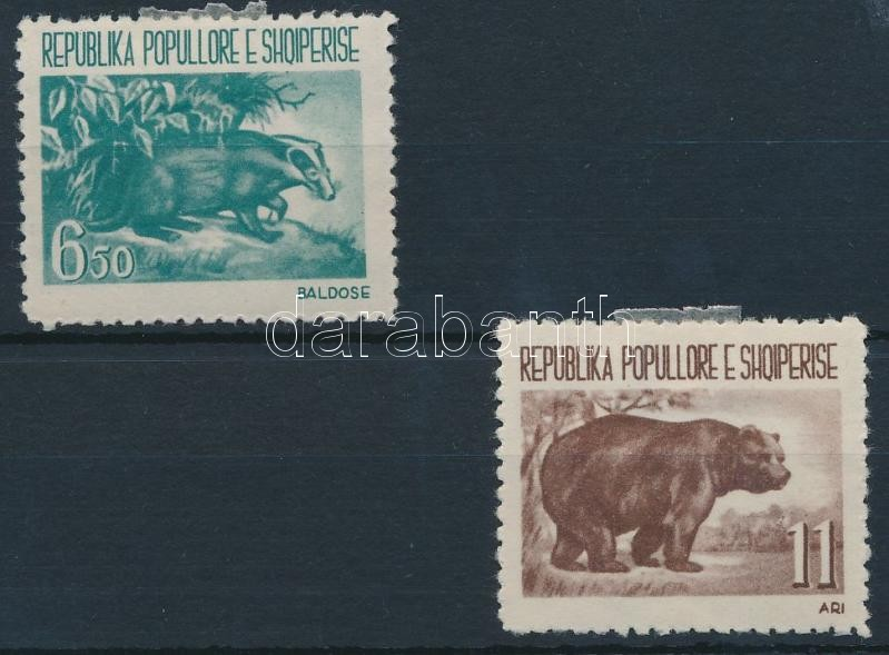 Native animals 2 stamps, Őshonos állatok sor 2 értéke