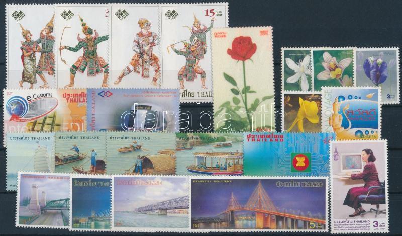 4 diff sets + 6 diff stamps, 4 klf sor + 6 klf önálló érték