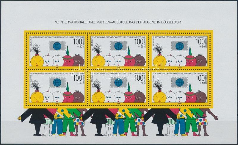 International Youth Stamp Exhibition block, Nemzetközi ifjúsági bélyegkiállítás blokk