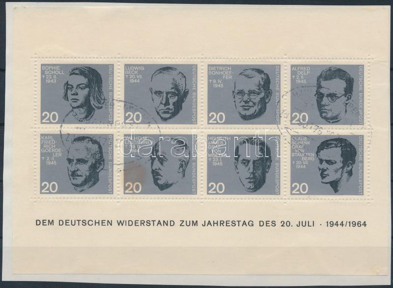 Hitler's assassination block, Hitler elleni merénylet 20. évfordulója blokk