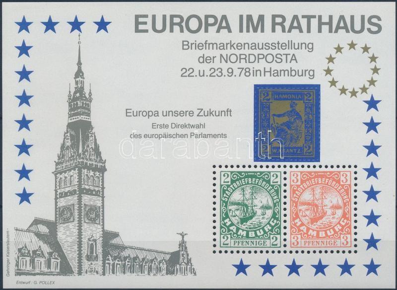 Nordposta emlékív, Nordpost memorial sheet