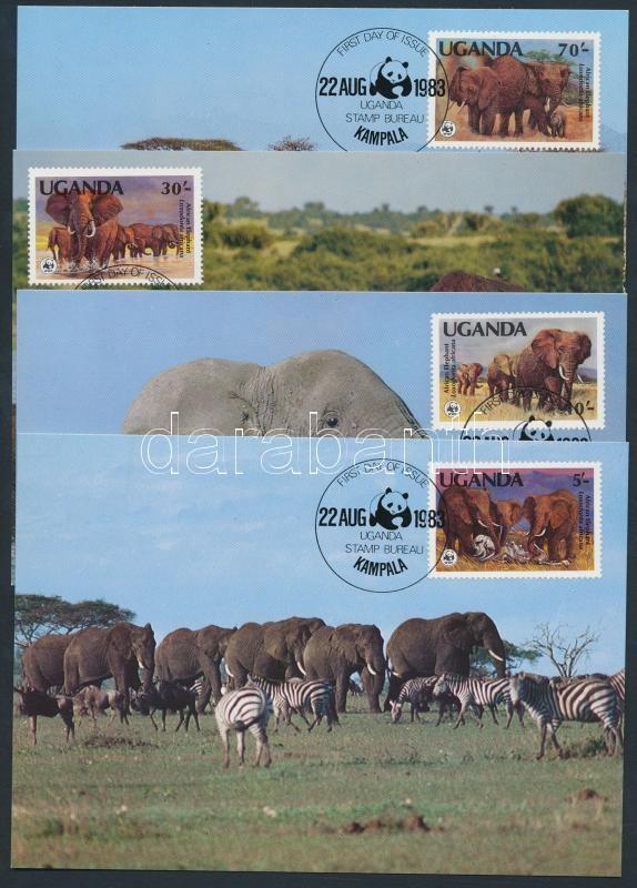 WWF Elephant set CM, WWF elefánt sor CM