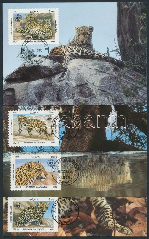 WWF Leopard set CM, WWF leopárd sor CM