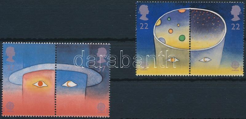 Europa Cept, Space Travel set in pairs, Europa Cept, Űrutazás sor párokban