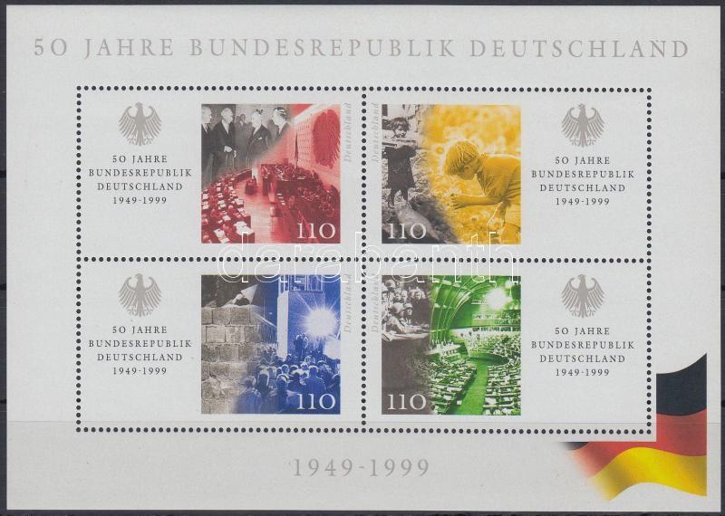 Federal Republic of Germany block, 50 éves a Német Szövetségi Köztársaság blokk