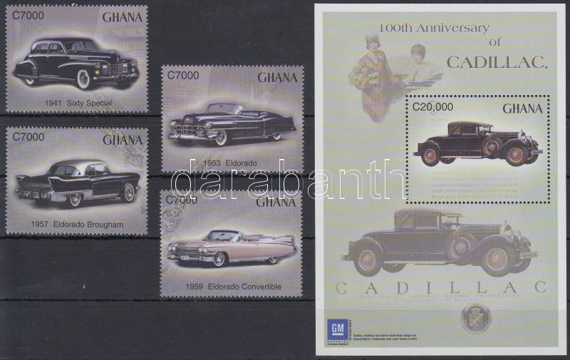 Cadillac set + block, Cadillac sor + blokk