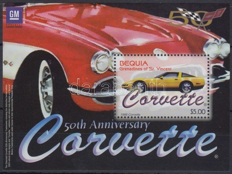 Cadillac mini sheet + block, Cadillac kisív + blokk