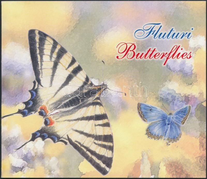 Butterflies stamp booklet, Pillangók bélyegfüzet