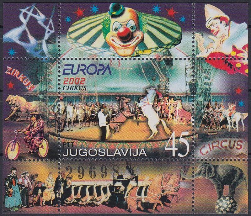 Europa CEPT: Circus block, Europa CEPT: Cirkusz blokk