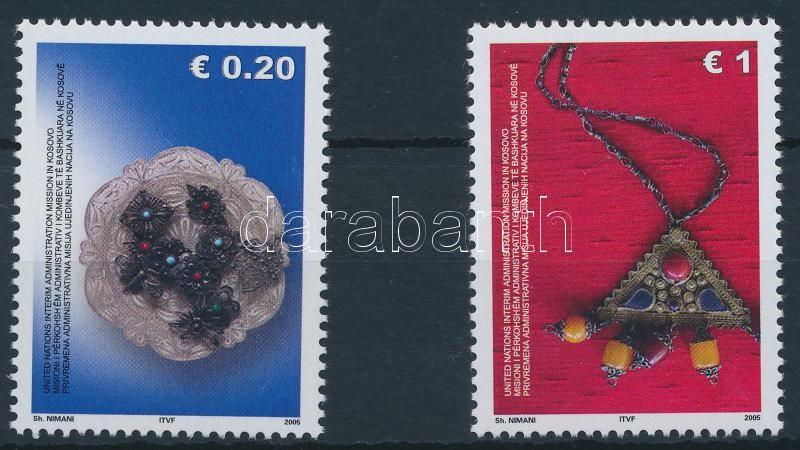 Jewelry 2 stamps from set, Ékszer sor 2 értéke