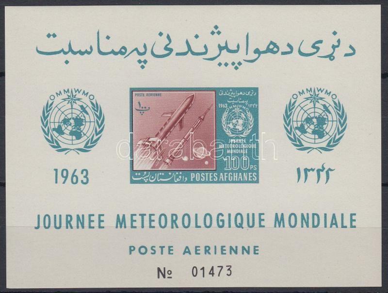 World Meteorological Day block, Meteorológiai világnap blokk