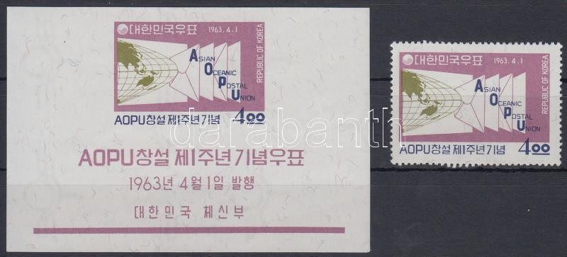 Asian-Pacific Postal Union + block, Ázsiai-óceániai postaunió + blokk