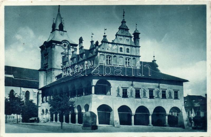 Levoca, town hall, Lőcse, városház