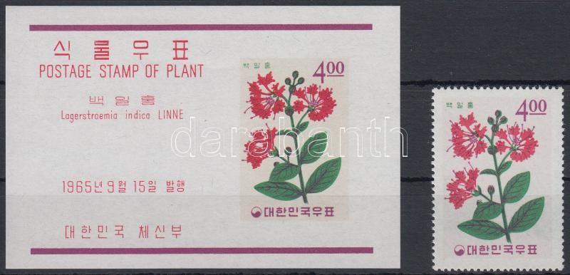 Plants (IX.) + block, Növények (IX.) + blokk