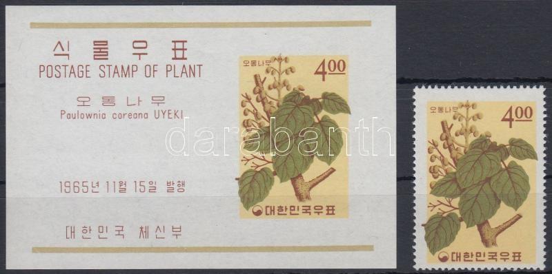 Plants (XI.) + block, Növények (XI.) + blokk
