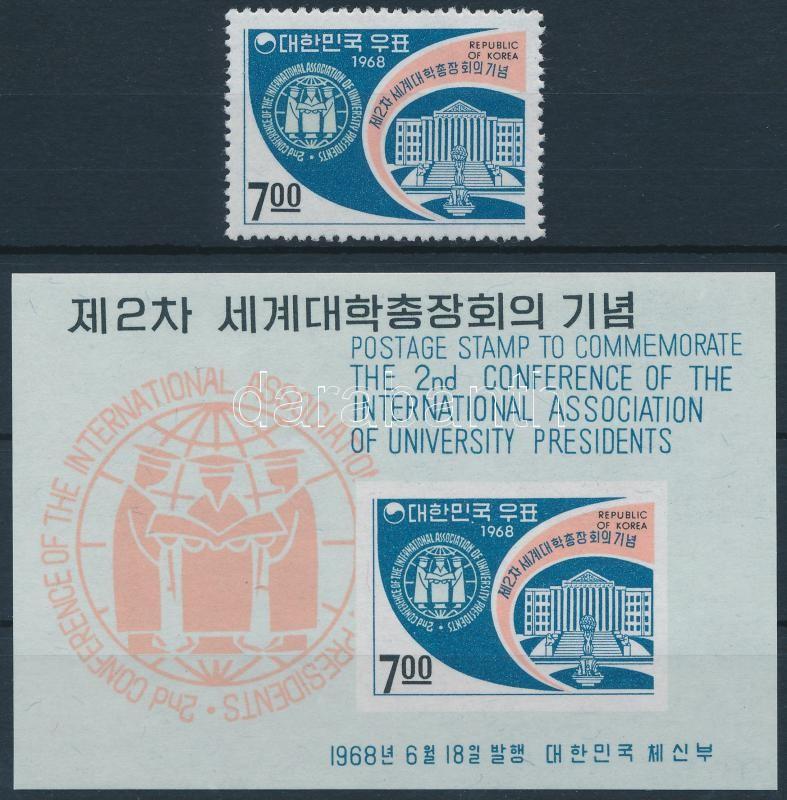 International Conference of College Directors + block, Nemzetközi Főiskola-igazgatók Konferenciája + blokk