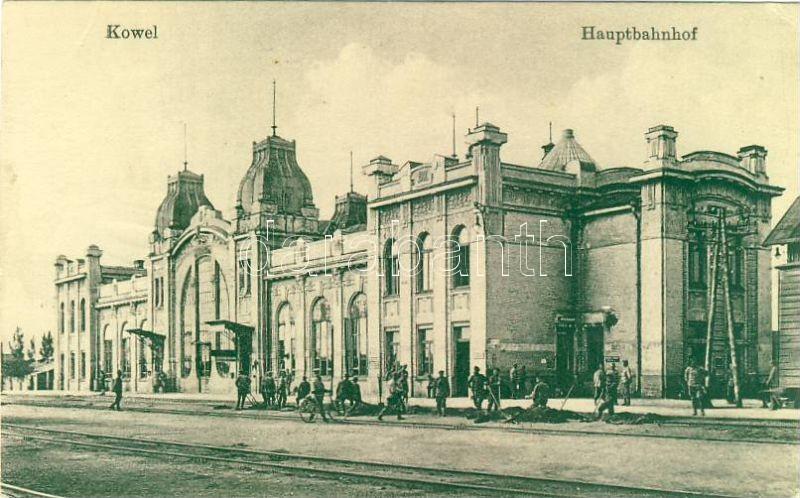 Kovel, Kowel; railway station