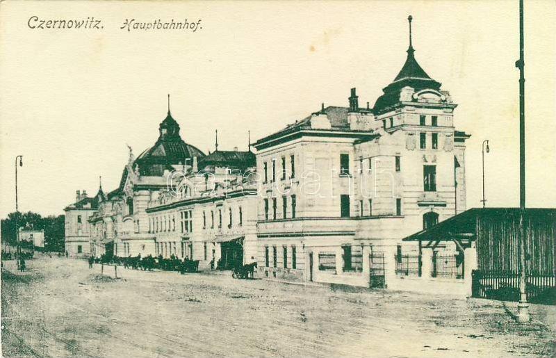 Chernivtsi, Czernowitz; Railway station